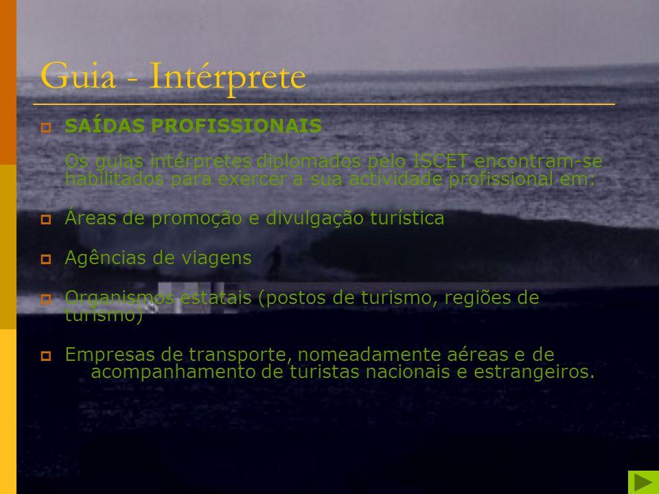 O ISCET é a única instituição do ensino no Norte do País que conta com um curso especialmente concebido para a preparação de Guias Intérpretes Naciona