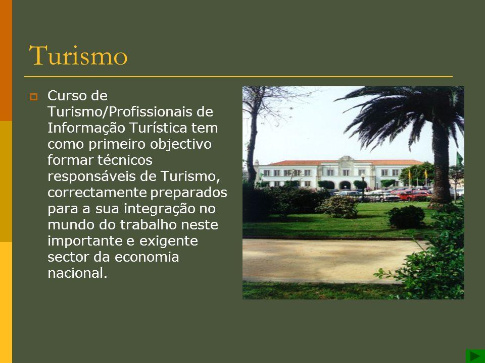 Escola Profissional de Espinho Turismo
