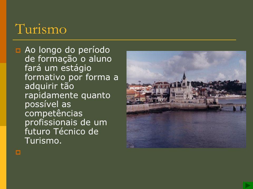 Turismo O trabalho em agências de viagens e turismo, em empreendimentos turísticos são algumas das saídas profissionais deste curso. No que concerne a