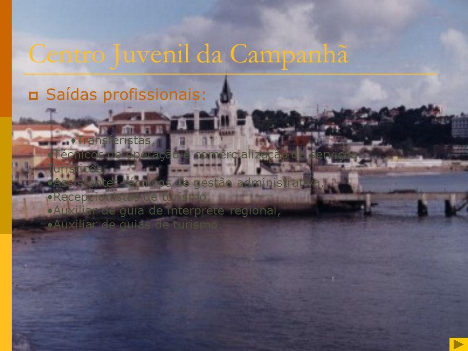 Centro Juvenil da Campanhã Curso técnico de Turismo