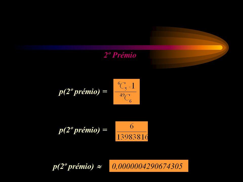 p(2º prémio) = p(2º prémio) 0,0000004290674305
