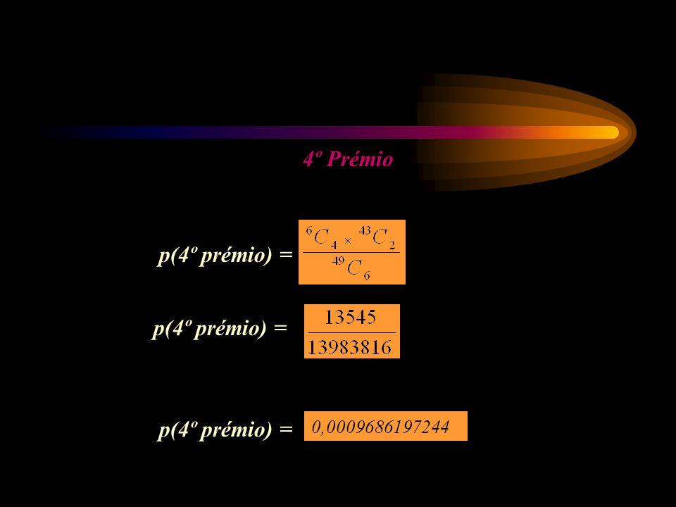 4º Prémio p(4º prémio) = 0,0009686197244