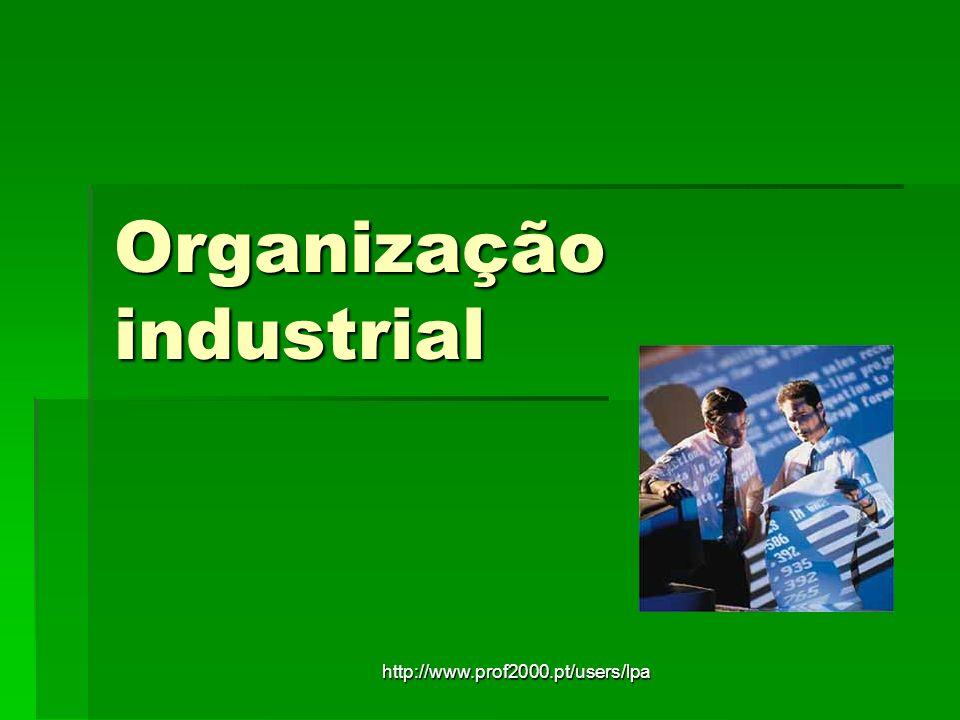 http://www.prof2000.pt/users/lpa Organização industrial