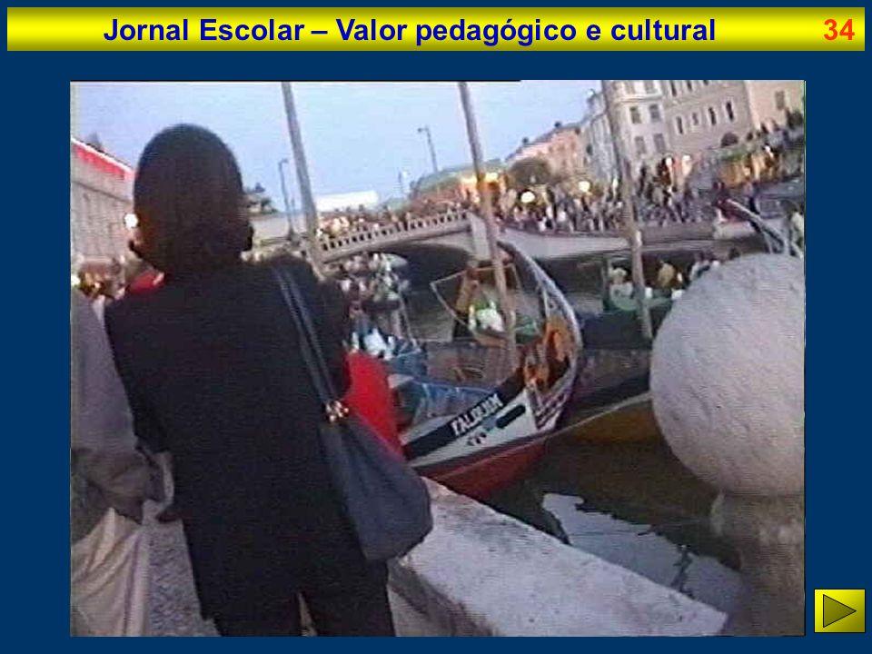 Jornal Escolar – Valor pedagógico e cultural34