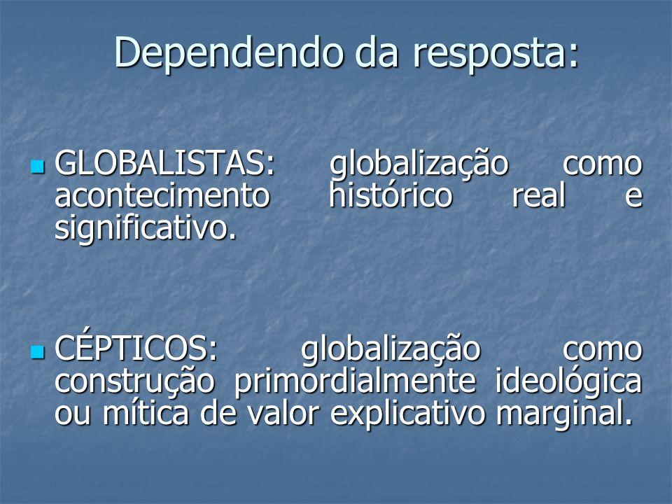 Objectivo 4 Tematizar a desigualdade global e os desafios ambientais.