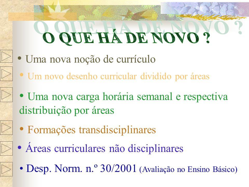 PROJECTO CURRICULAR DE TURMA Não há receitas pré-fabricadas.