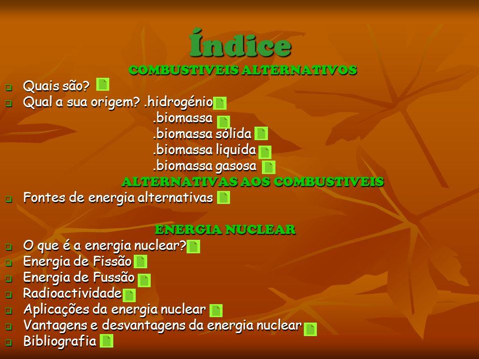 Vantagens e desvantagens da energia nuclear Vantagens Vantagens O combustível é barato O combustível é barato É a fonte a mais concentrada de geração de energia É a fonte a mais concentrada de geração de energia O resíduo é mais o compacto de toda as fontes O resíduo é mais o compacto de toda as fontes Base científica extensiva para todo o ciclo Base científica extensiva para todo o ciclo Fácil de transportar como novo combustível Fácil de transportar como novo combustível Nenhum efeito estufa ou chuva ácida Nenhum efeito estufa ou chuva ácida Desvantagens Desvantagens É a fonte de maior custo por causa dos sistemas de emergência, de contenção, de resíduo radioactivo e de armazenamento É a fonte de maior custo por causa dos sistemas de emergência, de contenção, de resíduo radioactivo e de armazenamento Requer uma solução a longo prazo para os resíduos armazenados em alto nível na maioria dos países Requer uma solução a longo prazo para os resíduos armazenados em alto nível na maioria dos países Proliferação nuclear potencial Proliferação nuclear potencial