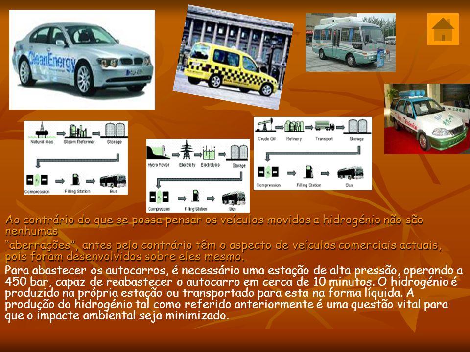 Ao contrário do que se possa pensar os veículos movidos a hidrogénio não são nenhumas aberrações, antes pelo contrário têm o aspecto de veículos comerciais actuais, pois foram desenvolvidos sobre eles mesmo.