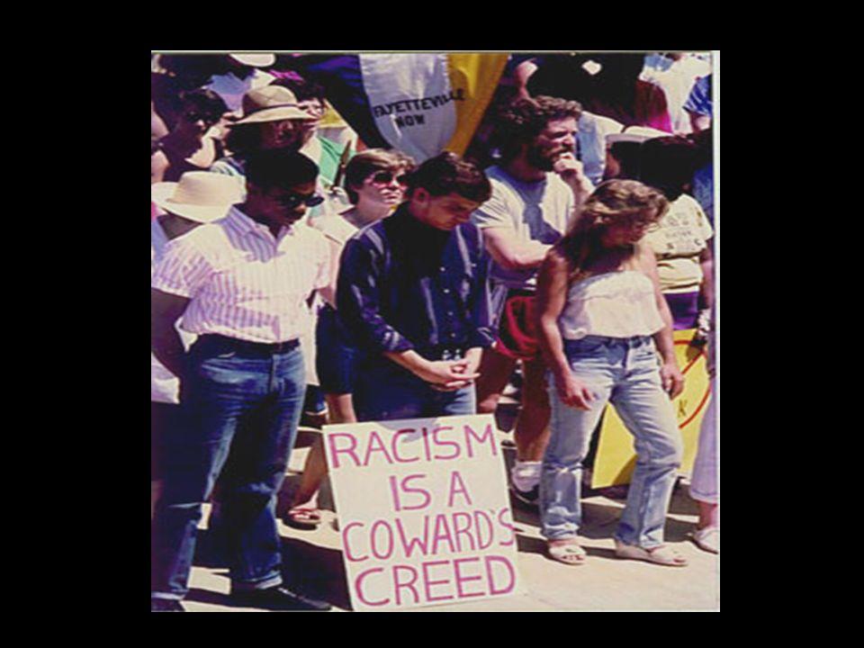 O Racismo é sempre uma recusa do outro, é a inferiorização de determinadas categorias sociais. Manifesta-se quando os mecanismos da diferença e da des