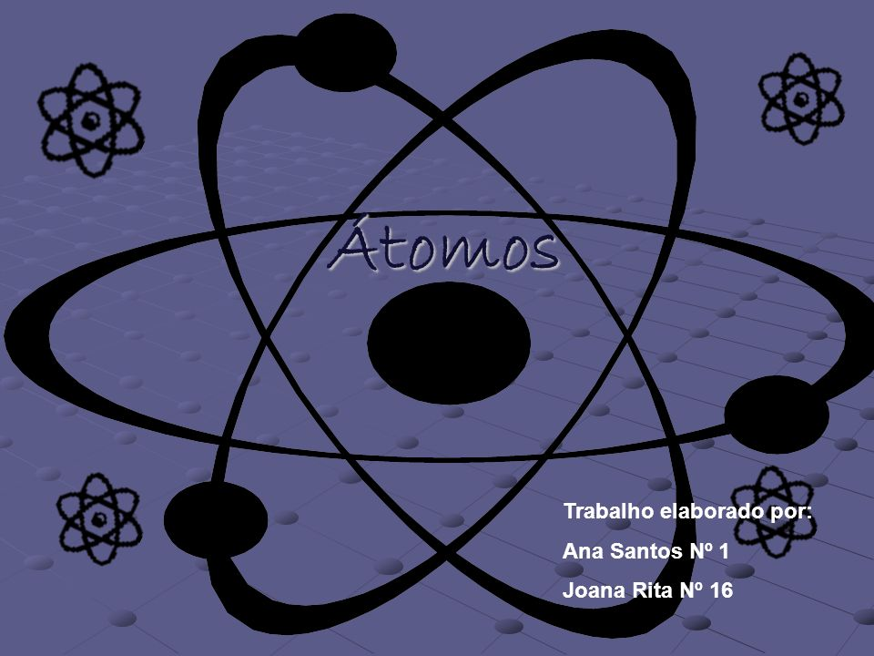 Introdução Este trabalho tem por objectivo, fornecer-nos um maior conhecimento sobre os Átomos.