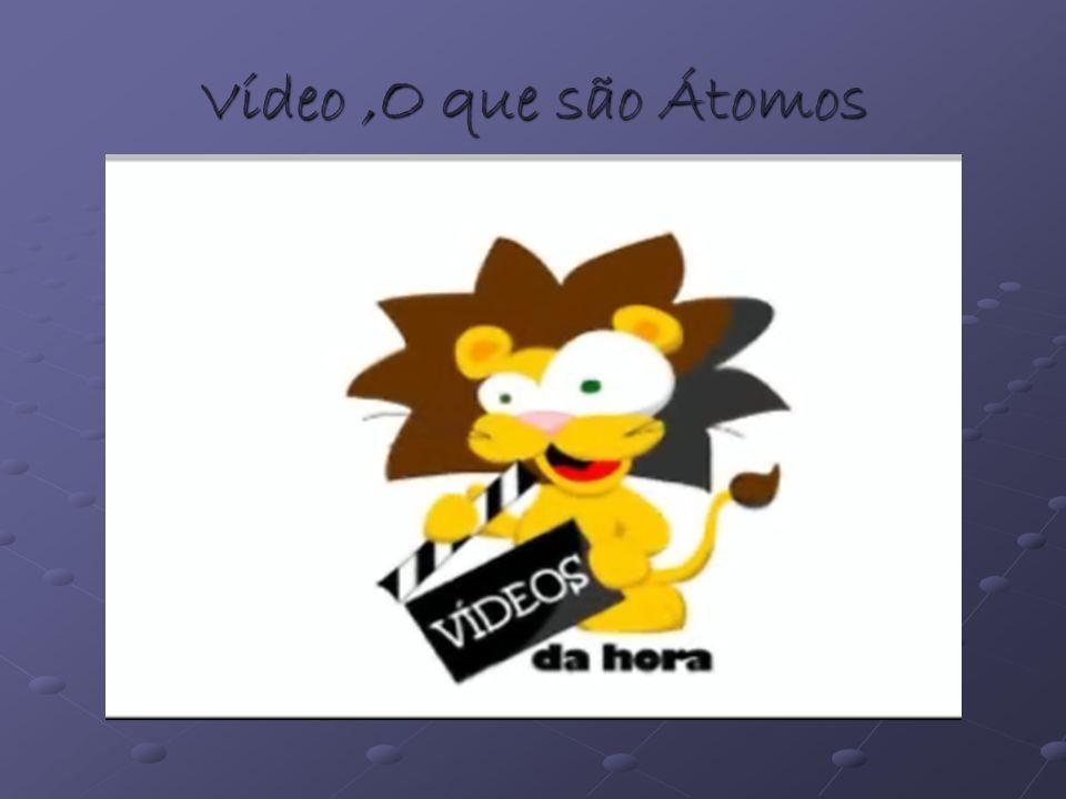 Vídeo,O que são Átomos