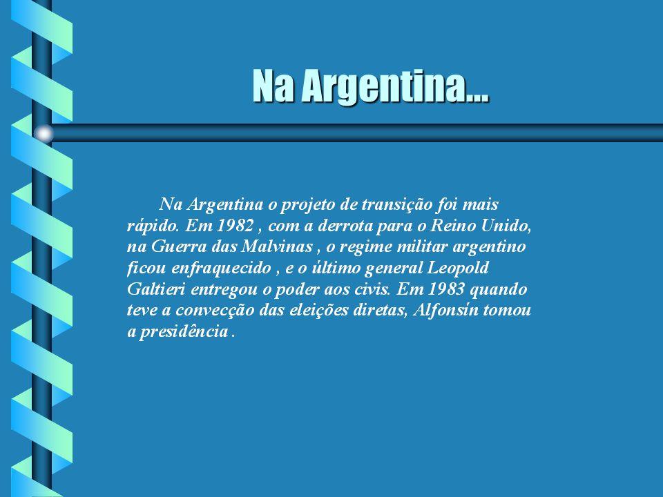 Na Argentina...