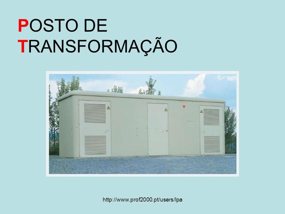 http://www.prof2000.pt/users/lpa POSTO DE TRANSFORMAÇÃO