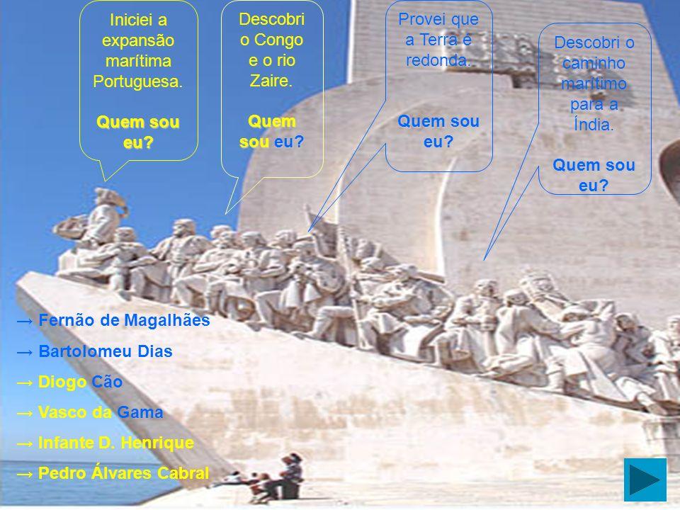 Quais as condições prioritárias para a Expansão Portuguesa? Larga extensão de costa. Grande necessidade de população. Existência de conhecimentos náut