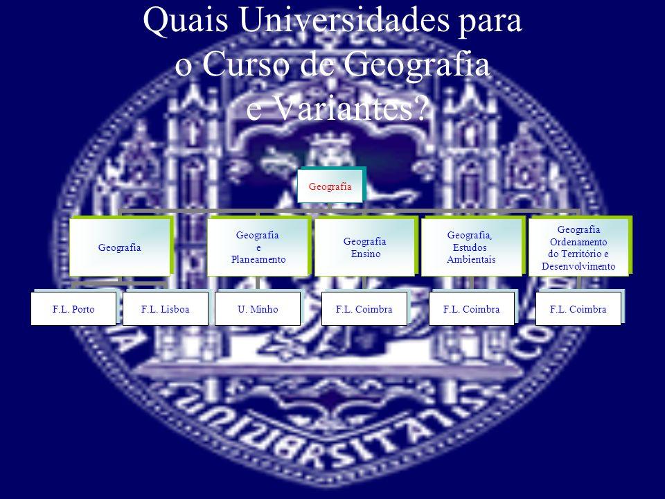 Quais Universidades.