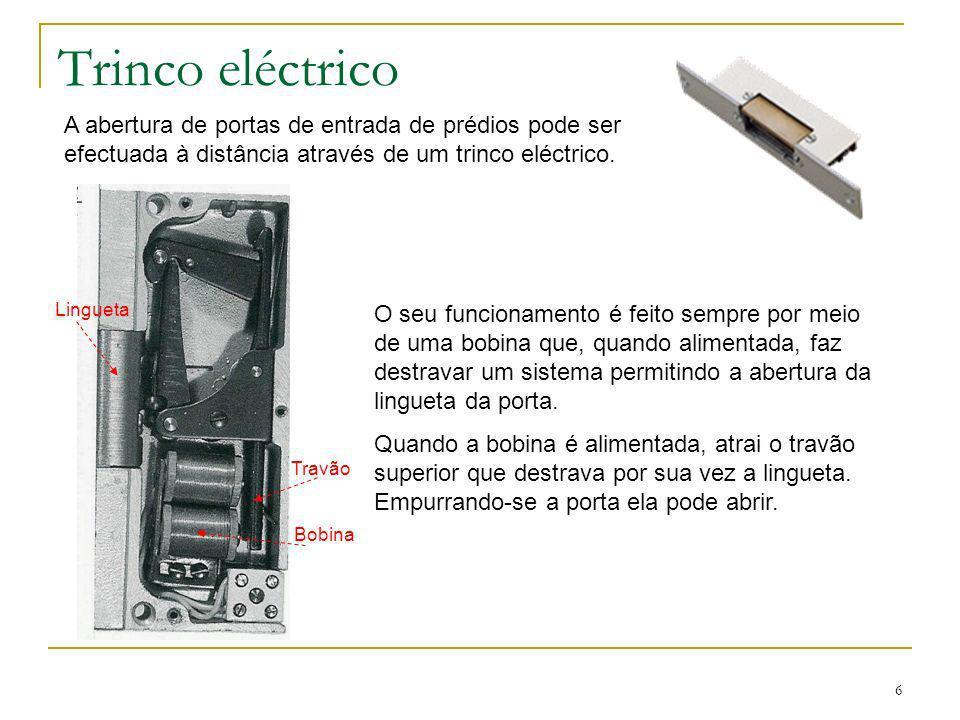 7 Ligações e funcionamento Pressionando o botão de pressão do andar pretendido do posto exterior (porta) tocará a campainha incorporada no posto interior (apartamento).