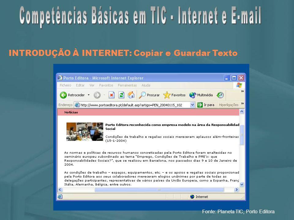 Fonte: Planeta TIC, Porto Editora
