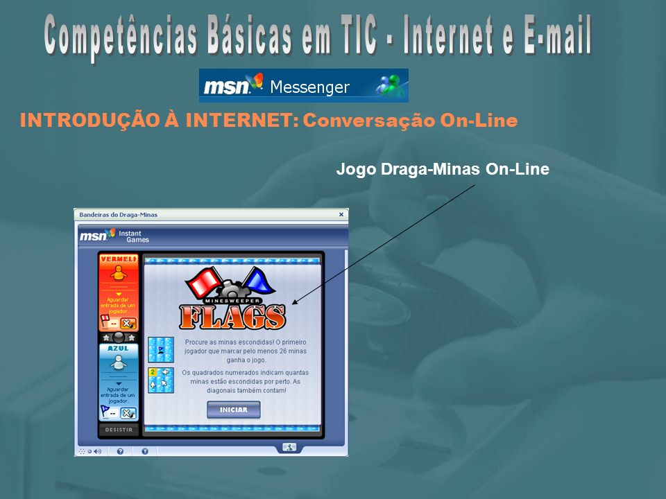 Jogo Draga-Minas On-Line