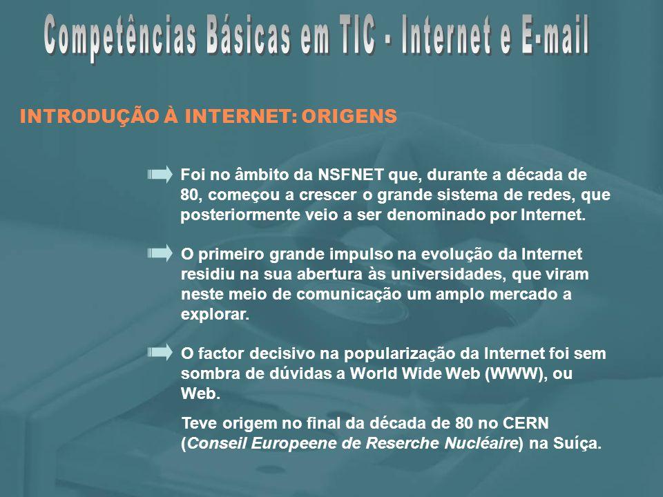 A Web surge com o intuito de facilitar a comunicação interna e externa, e com o objectivo de centralizar numa única ferramenta, as várias tarefas necessárias para se obter as informações disponíveis na Internet.
