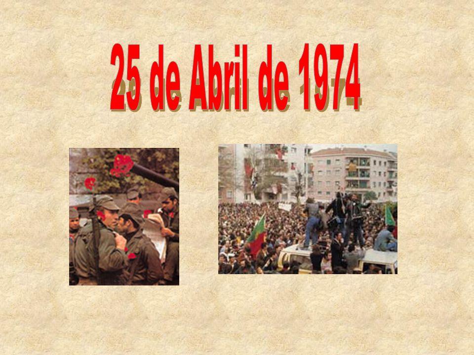 Afinal o que foi o 25 de Abril.O que aconteceu de tão importante nessa data.