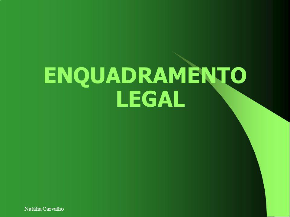 Natália Carvalho ENQUADRAMENTO LEGAL