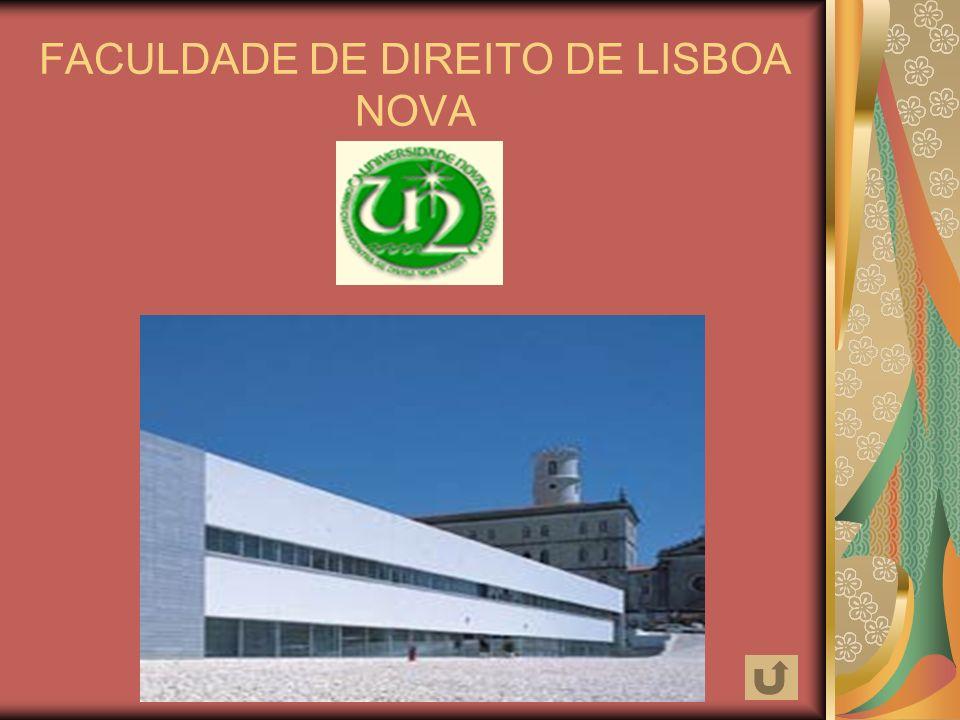 FACULDADE DE DIREITO DE LISBOA NOVA