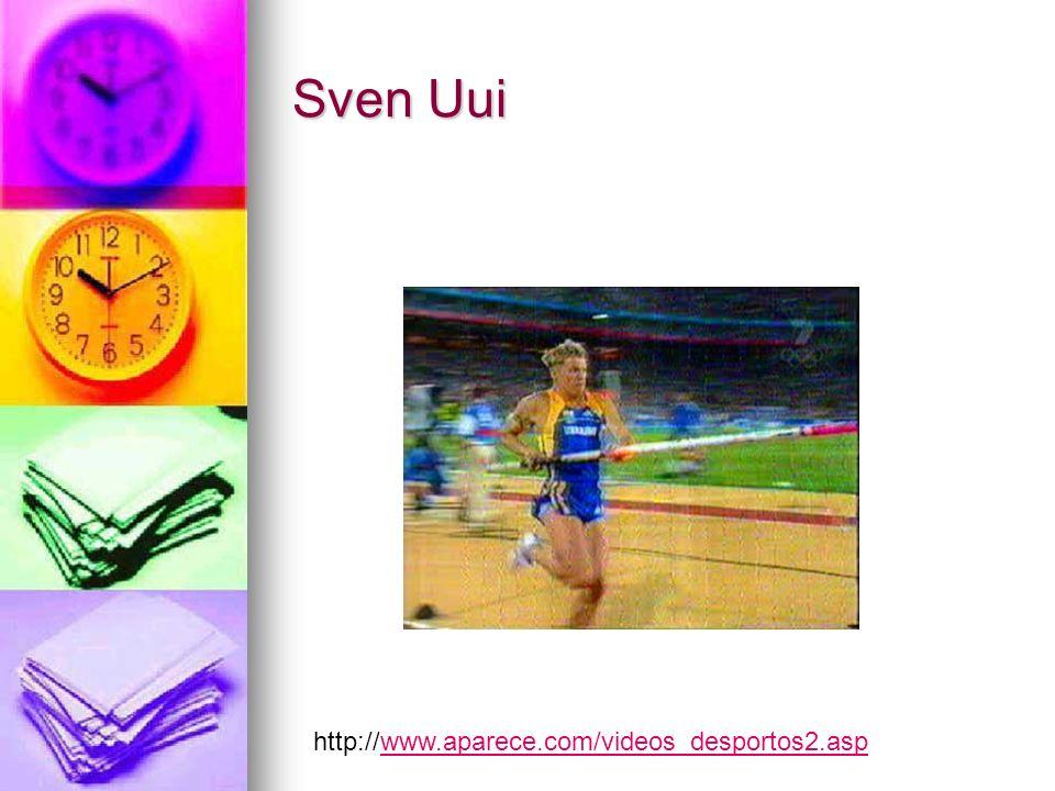 Sven Uui http://www.aparece.com/videos_desportos2.aspwww.aparece.com/videos_desportos2.asp