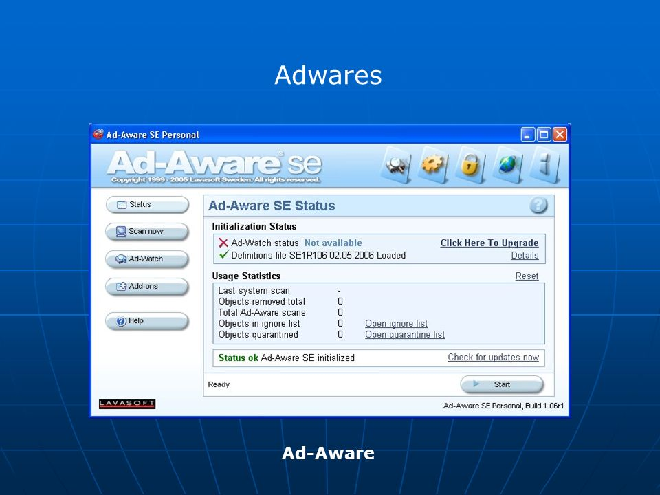 Adwares Ad-Aware