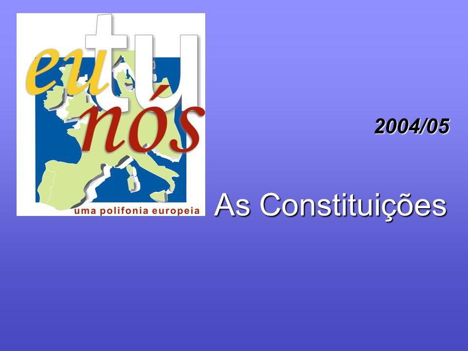 As Constituições 2004/05