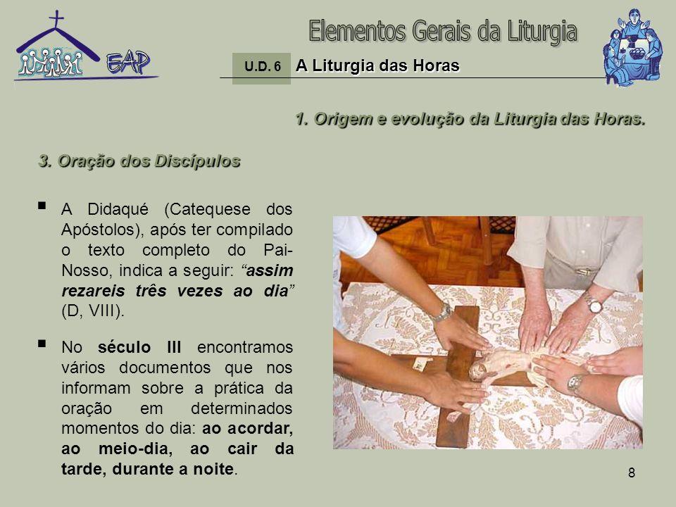 9 1.Origem e evolução da Liturgia das Horas.