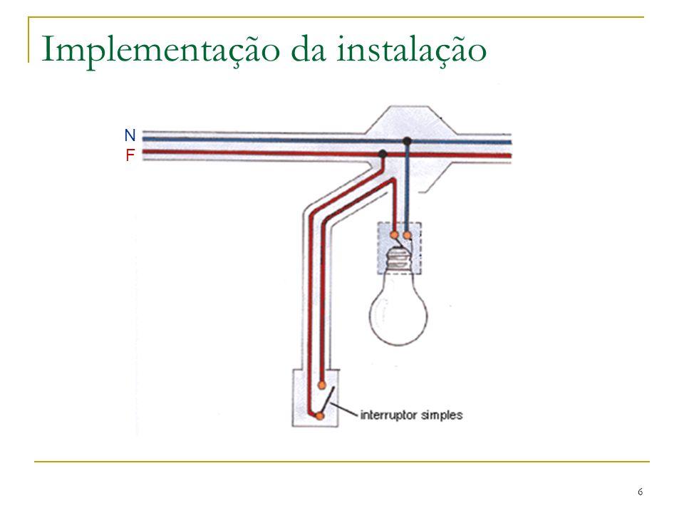 Lucínio Preza de Araújo 7 Material necessário Tubo VD Braçadeiras Caixa de derivação Boquilhas Caixa de aparelhagem Interruptor simples Suporte de lâmpada Condutor H07V-U Lâmpada de incandescência Placa de ligadores