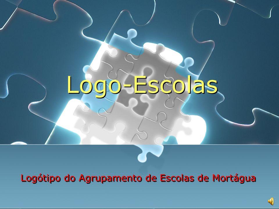 Logo-Escolas Necessidade de criação do logótipo do Agrupamento de Escolas Como surgiu.