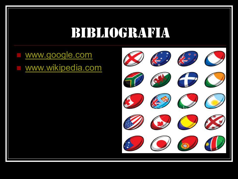Bibliografia www.google.com www.wikipedia.com