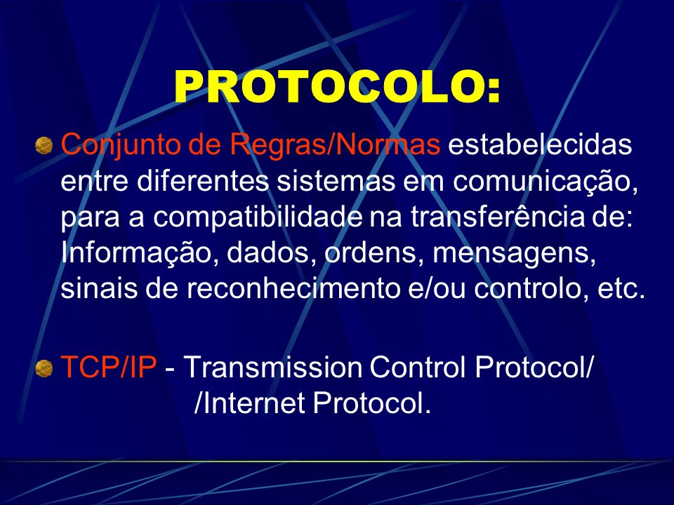 O que é o WWW / Web? --- Exemplo de uma Web Cada nó da teia é uma página/documento de informação Os nós encontram-se interligados de forma arbitrária