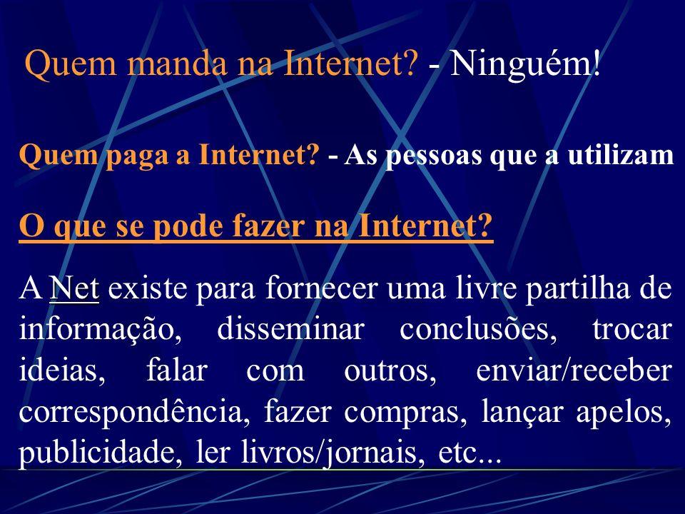 LINKs: Ligações Ligações directas directas para pontos/locais diferentes na mesma página, para outras páginas, para outros servidores na NET, independ