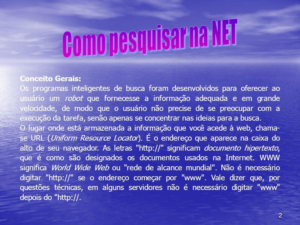 3 O nome que segue o www. é chamado de domínio.Exemplo unesco.org .