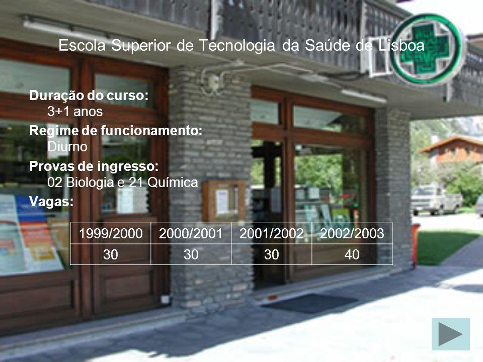 Estabelecimentos de ensino Escolas Superiores Institutos tecnologia da saúde de Lisboa tecnologia da saúde de Coimbratecnologia da saúde de Coimbra tecnologia da saúde do Porto saúde Ribeiro Sanches saúde do Vale do Ave saúde do Alto Ave