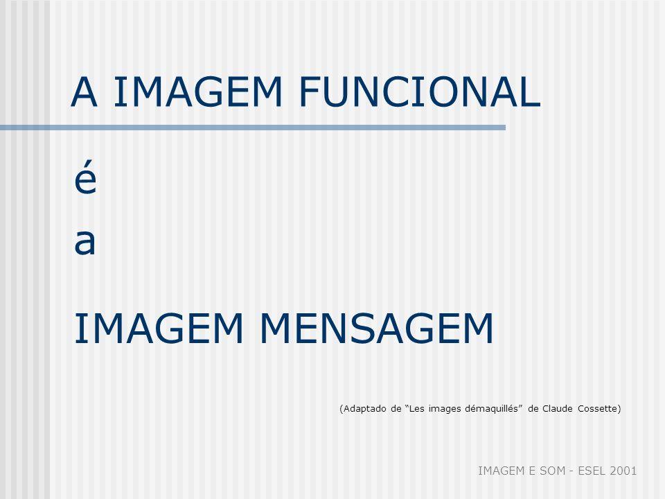 Imagem funcional As imagens que são forças psíquicas primeiras são mais fortes que as ideias, mais fortes que as experiências reais.