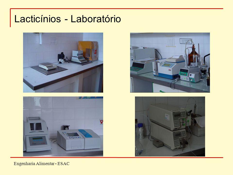 Engenharia Alimentar - ESAC Lacticínios - Laboratório