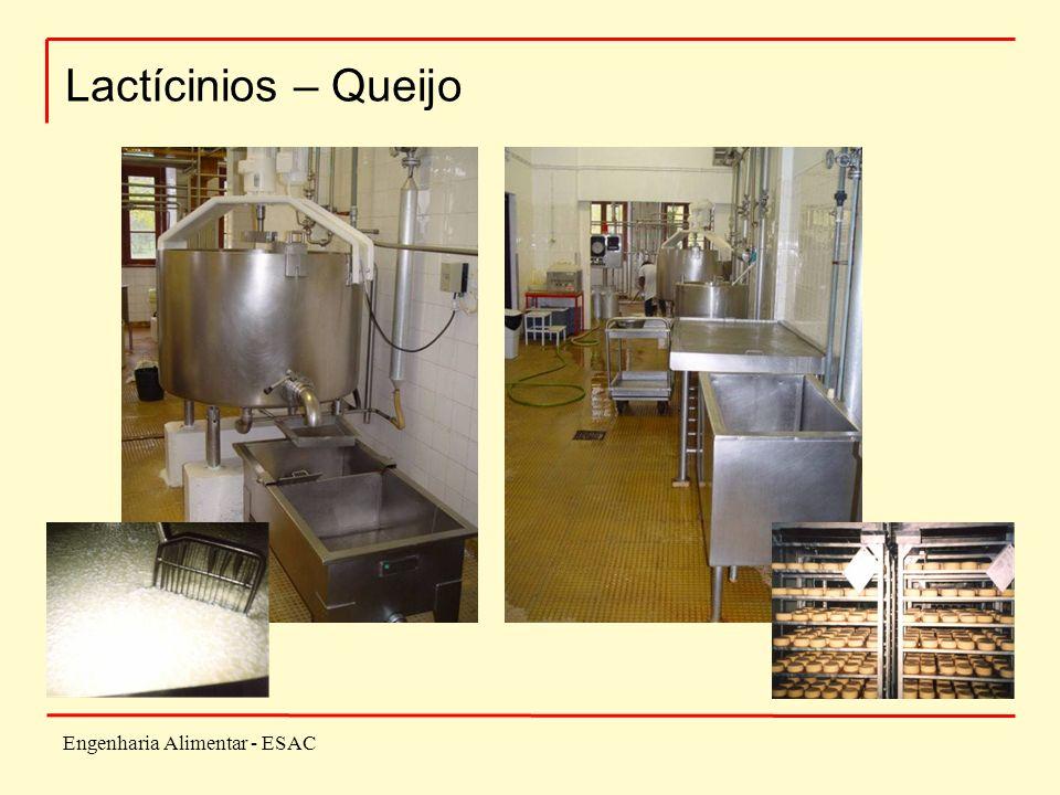 Engenharia Alimentar - ESAC Lactícinios – Queijo