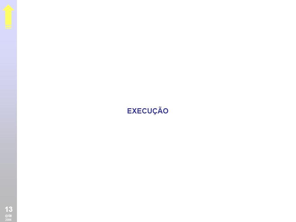 EXECUÇÃO 13 © 2006