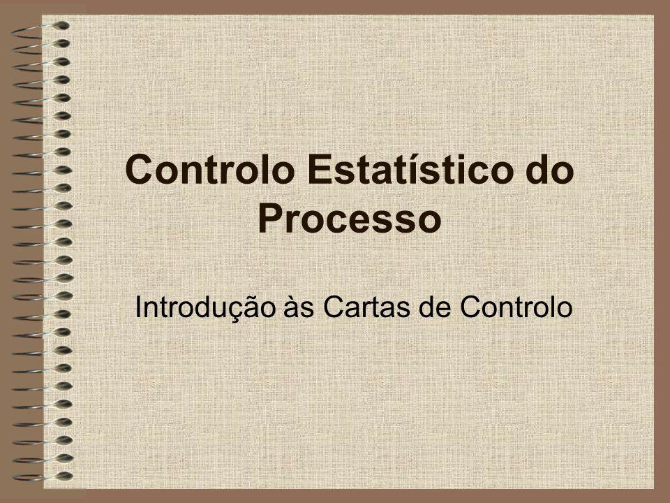 Controlo Estatístico do Processo Introdução às Cartas de Controlo