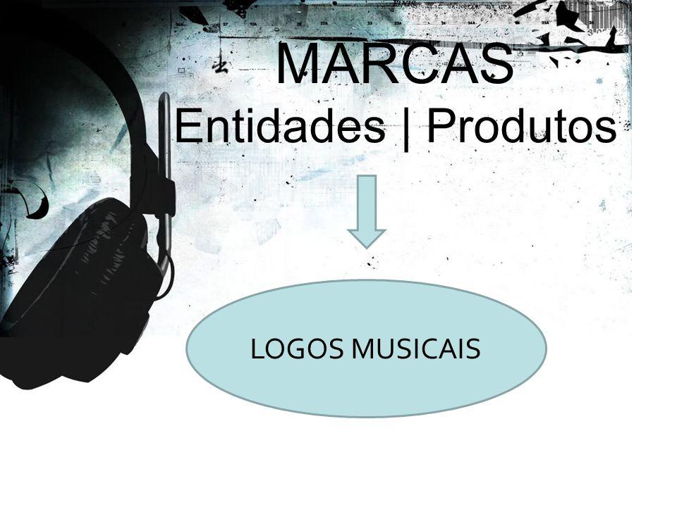 LOGOS MUSICAIS MARCAS Entidades | Produtos