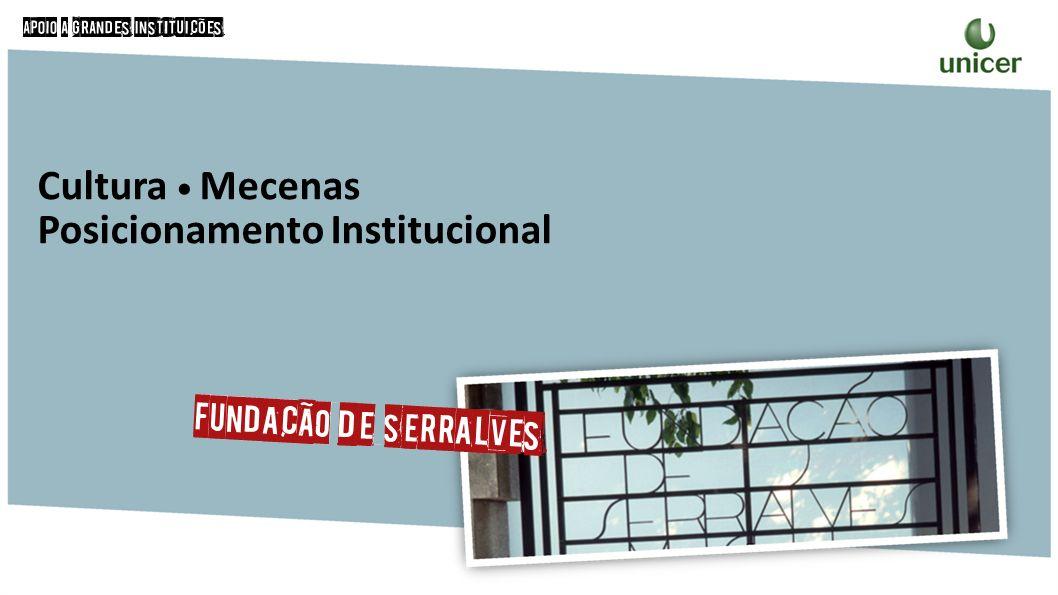 Cultura Mecenas Posicionamento Institucional