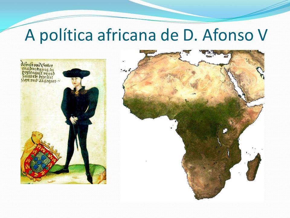 O arrendamento do comércio na costa de África