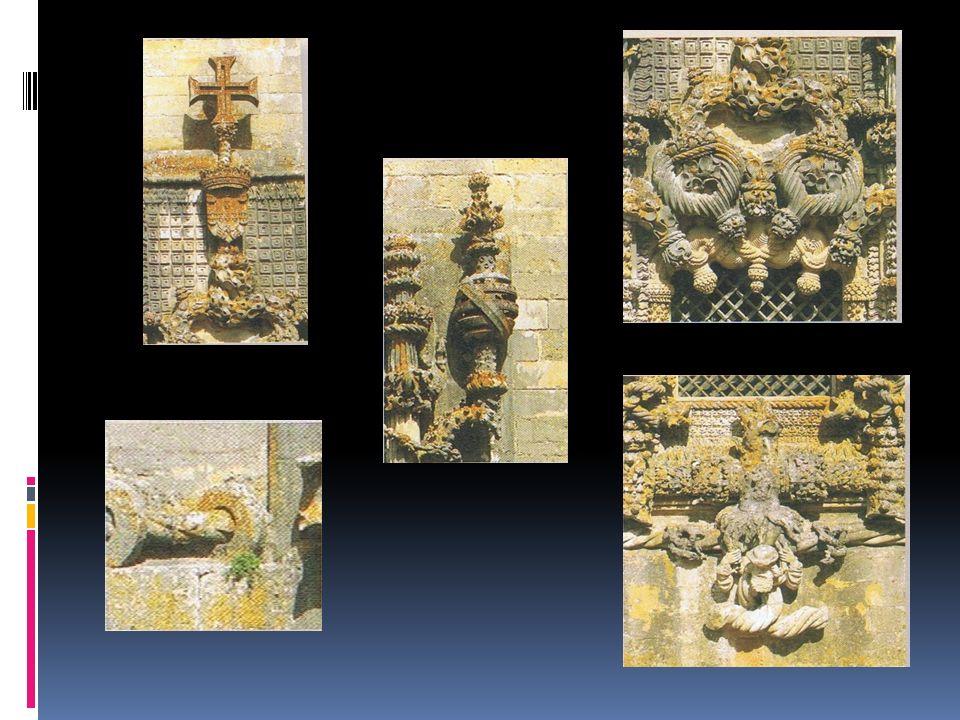 Convento de Cristo em Tomar Que elementos decorativos encontras na Janela do Convento de Cristo? Diogo de Arruda – Autor da decoração da janela