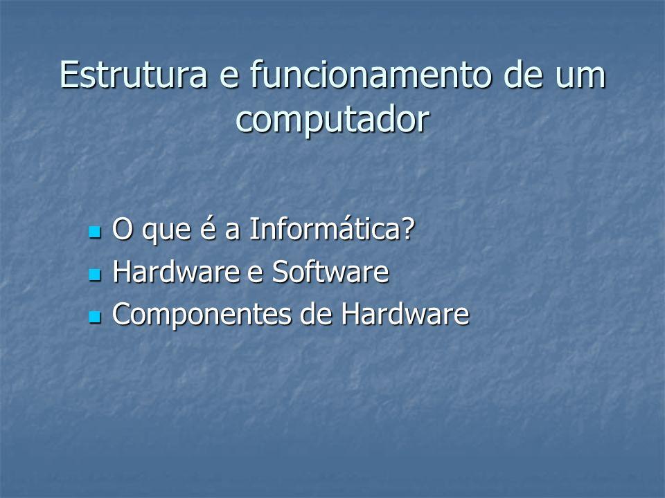 O que é informática.