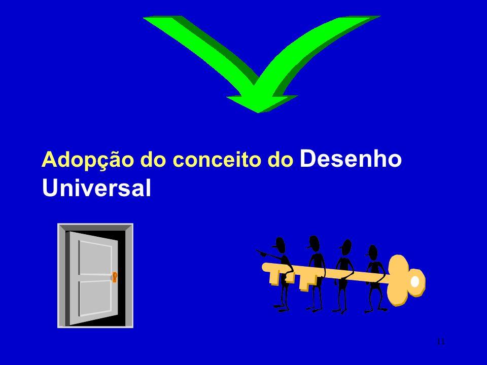 10 Prevenir as BARREIRAS Acessibilidade à Web segundo o Desenho Universal Acessibilidade à UMTS Acessibilidade à TV Digital