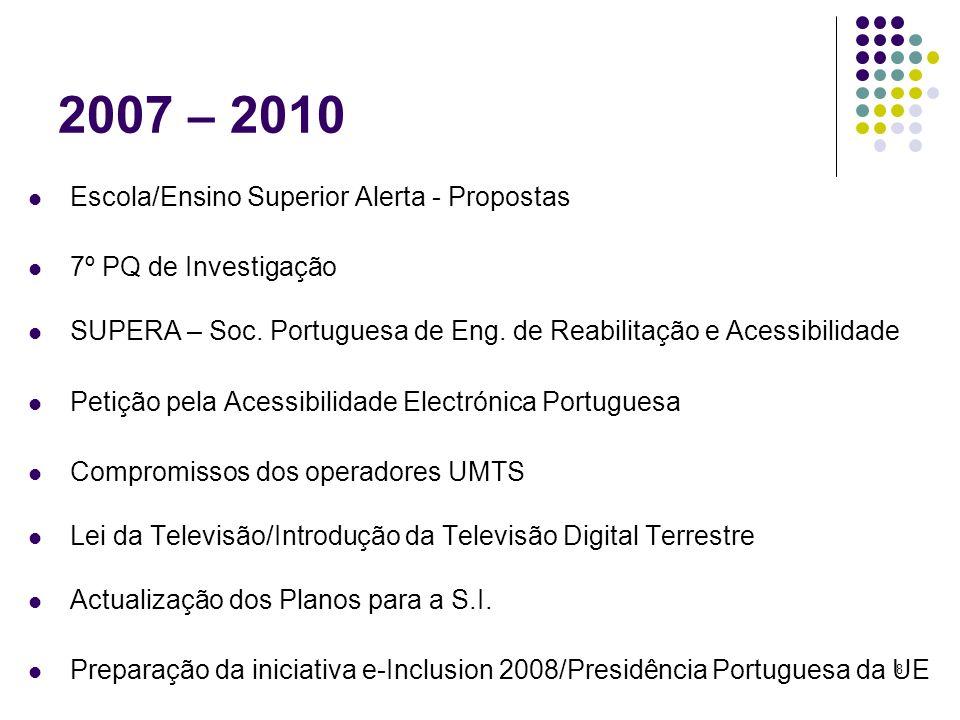 19 Televisão Digital Terrestre Lei da Televisão: Discussão na A.R.