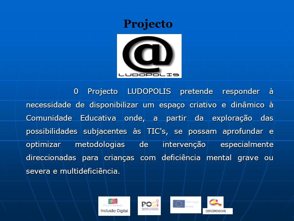 0 Projecto LUDOPOLIS pretende responder à necessidade de disponibilizar um espaço criativo e dinâmico à Comunidade Educativa onde, a partir da explora